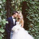 Aaron Paul and Lauren Parsekian Wedding Photos - 454 x 605