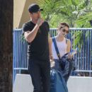 Emma Roberts and Garrett Hedlund – Arrives at a Bowling Alley in Los Angeles