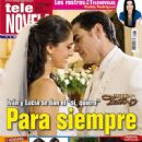 David Zepeda, Sandra Echeverría, La fuerza del destino - Tele Novela Magazine Cover [Spain] (16 January 2012)