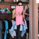 Vanessa Hudgens At A Yoga Class In Studio City