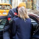 Chloe Moretz and Brooklyn Beckham out in NYC - 454 x 510