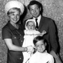 James with wife Joyce Bulifant & family 1965 - 454 x 571