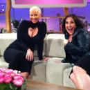 Amber Rose Filmes for the Ricki Lake Show in Los Angeles, California - March 20, 2013 - 454 x 283