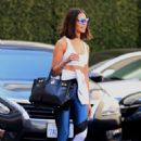 Olivia Culpo – Heads to a dermatology clinic in Beverly Hills
