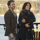 Lisa Edelstein and Michael Weston