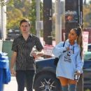 Ariana Grande – Arrives at a music studio in Hollywood - 454 x 681