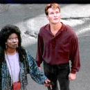 Patrick Swayze As Sam Wheat And Whoopi Goldberg As Oda Mae Brown In Ghost (1990)