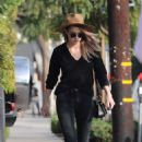 Amber Heard – Leaves Cafe Gratitude in West Hollywood