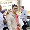 Joe Jonas was spotted heading to do an interview in Liverpool, England, June 28!