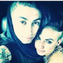 Ronnie Radke and Jenna King - 454 x 448
