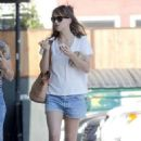 Dakota Johnson out in LA  (August 1, 2016)