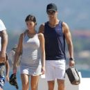 Cristiano Ronaldo and Georgina Rodriguez in Ibiza