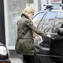 Gwyneth Paltrow At Starbucks With A Friend In London, March 19