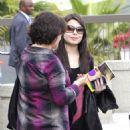Miranda Cosgrove Departs From LAX Airport 9/20/10