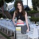 Lydia Hearst Just Jared Dinner Party In Malibu
