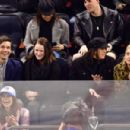 Ashley Benson – Calgary Flames v New York Rangers hockey game in NYC
