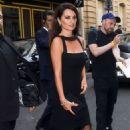 Penelope Cruz arriving at the Atelier Swarovski Cocktail Party in Paris