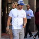 Mark Wahlberg heads through Beverly Hills on February 04, 2016 - 372 x 600