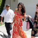 Shay Mitchell – Arriving to The in Style Gifting Suite in Brentwood