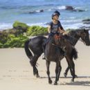 Elsa Pataky Takes Her Horse for a Ride 03/19/2019 - 454 x 333