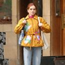 Zoey Deutch – Leaving a Coffee Shop in New York