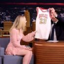 Dakota Fanning on 'The Tonight Show Starring Jimmy Fallon' in NY