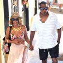 Beyonce Bikini Candids In Portofino