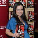 Danica McKellar Promotes 'Hot X: Algebra Exposed' At Borders Books & Music, Columbus Circle On August 4, 2010 In New York City - 454 x 573