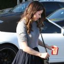Miranda Cosgrove In A Skirt Leaving Fred Segal In West Hollywood