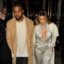 Kim Kardashian and Kanye West leave Le Maurice Hotel in Paris