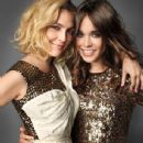 Drew Barrymore and Ellen Page in 'Marie Claire' Magazine