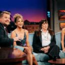 James Corden, Halle Berry, Anjelica Huston and Alison Williams At The Late Late Show with James Corden (May 2019) - 454 x 303