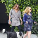 Anna Paquin taking her dog for a walk in Venice, CA (August 24) - 454 x 547