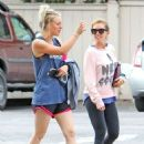 Kaley Cuoco Leaving Workout in Studio City - 454 x 604