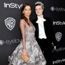 Angela Sarafyan and Evan Rachel Wood - Warner Bros. Pictures and InStyle Host 18th Annual Post-Golden Globes Party - Arrivals - 389 x 600