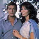 Maud Adams and Roger Moore - 454 x 352
