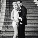 Kirsten Storms and Brandon Barash on their wedding day June 2013
