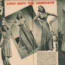 Arleen Whelan - Filmjournalen Magazine Pictorial [Sweden] (30 June 1939) - 454 x 313