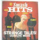 David Gahan - Smash Hits Magazine Cover [United Kingdom] (22 November 1984)