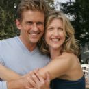 Charlie Schlatter as Jonathan and Andrea Marcellus as Alex in comedy romance 'Out at the Wedding.'