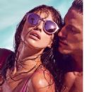 Irina Shayk For Linda Farrow Spring 2015 Sunglasses Campaign