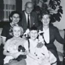 Rita and her sister Susie with their mother, Hilde, and Otto Frank and his wife Fritzi, right, in 1958. Otto, father of Anne Frank, was Rita's godfather - 454 x 272
