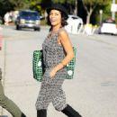 Rosario Dawson Filming In Los Angeles