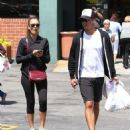 Jessica Alba and husband Cash Warren stop at UCLA Medical center before grabbing some medicine at a Rite Aid in Los Angeles