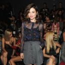 Crystal Reed: attends the Emerson Spring 2013 fashion show during Mercedes-Benz Fashion at The Studio Lincoln Center
