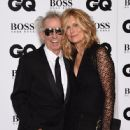 Keith Richards and Patti Hansen attend the GQ Men Of The Year Awards at The Royal Opera House on September 8, 2015 in London, England. - 446 x 600