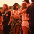 Nina Dobrev – 2017 Coachella Music Festival in Indio - 454 x 638