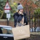 Lily James out shopping in London January 16, 2017 - 454 x 681