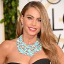 Sofia Vergara attends the 71st Annual Golden Globe Awards held at The Beverly Hilton Hotel on January 12, 2014 in Beverly Hills, California