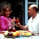 Raquel Welch and Hector Elizondo in Samuel Goldwyn Films' Tortilla Soup - 2001